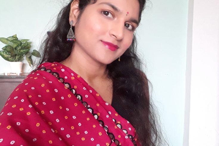 Navratri Makeup Tutorial- easy beginner- budget makeup tutorial- Indian festive makeup