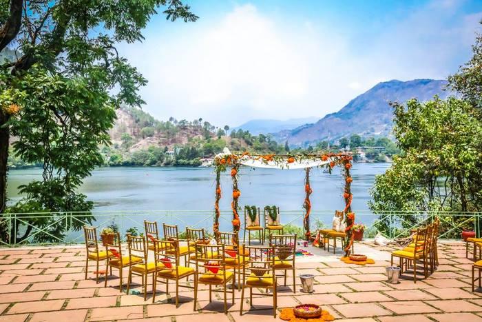 Destination wedding hills India