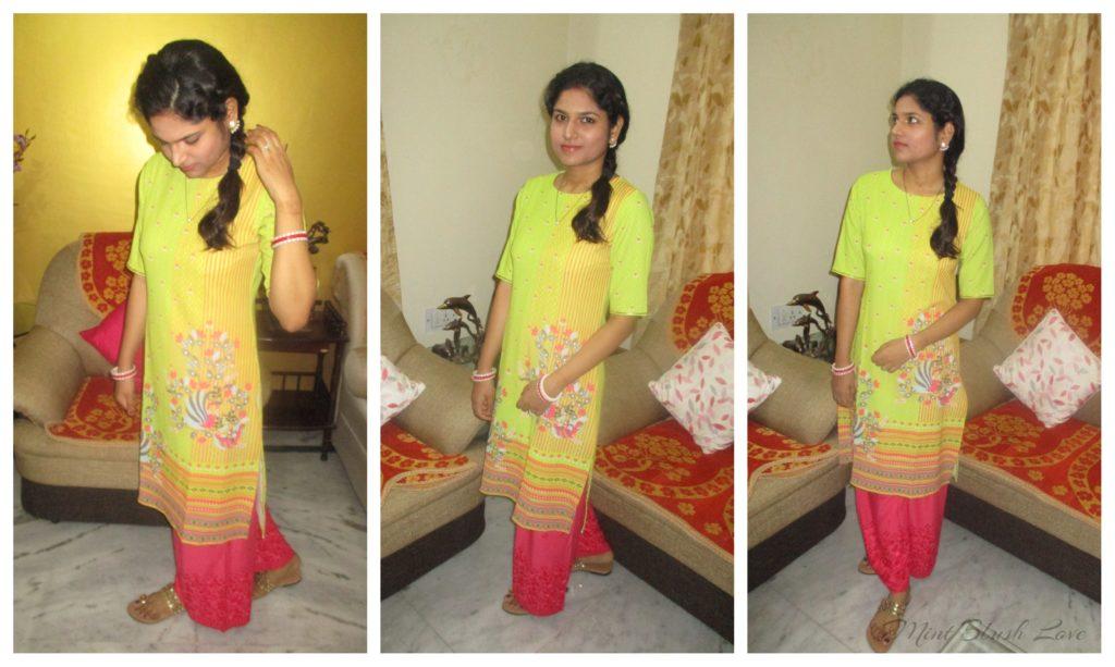 Diwali festive outfit