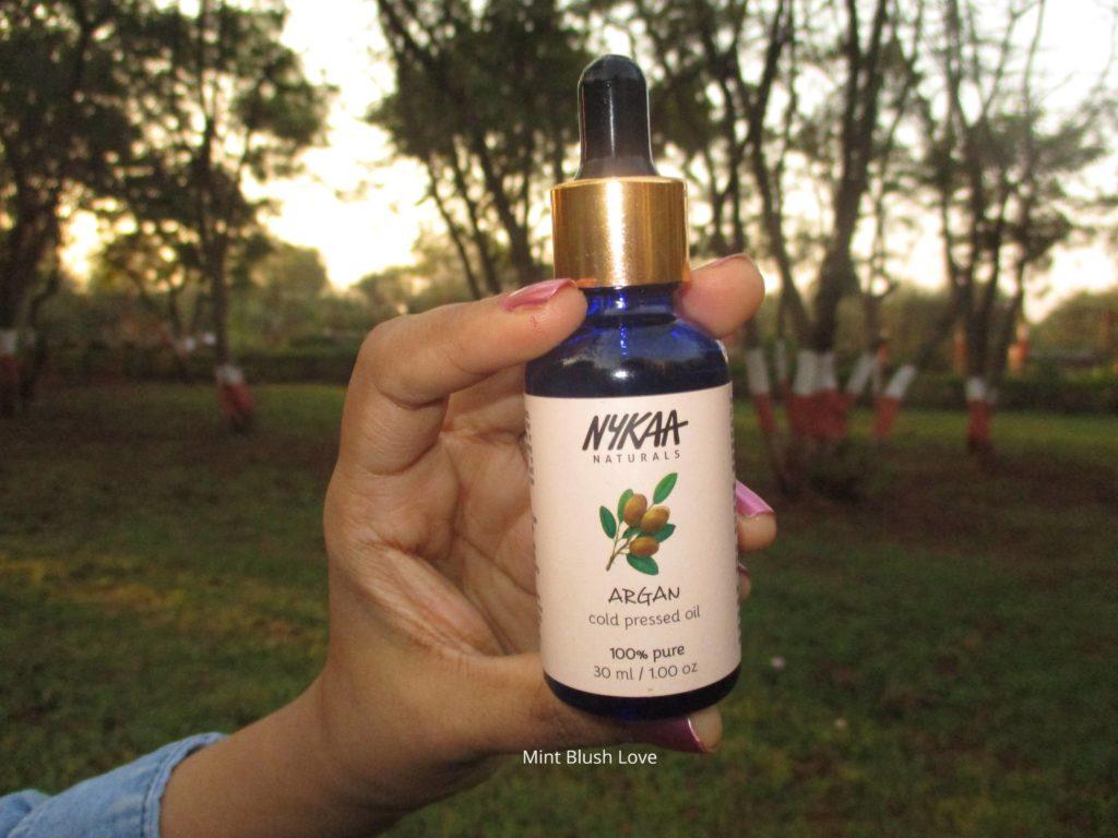 Nykaa argan oil review, Benefits of argan oil, How to use argan oil, DIY moisturiser