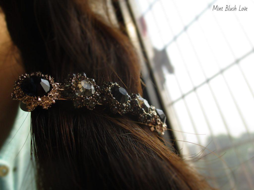 Crystal Hair Accessory, Rapunzel hair