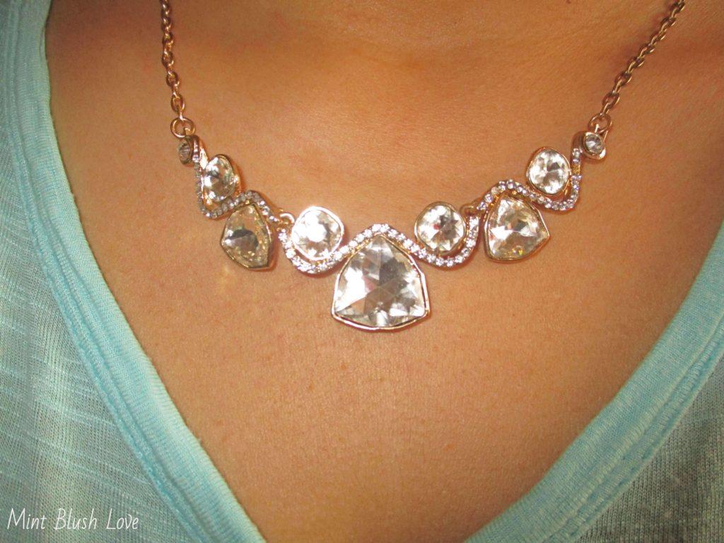 Globus Jewellery haul, statement neaclace