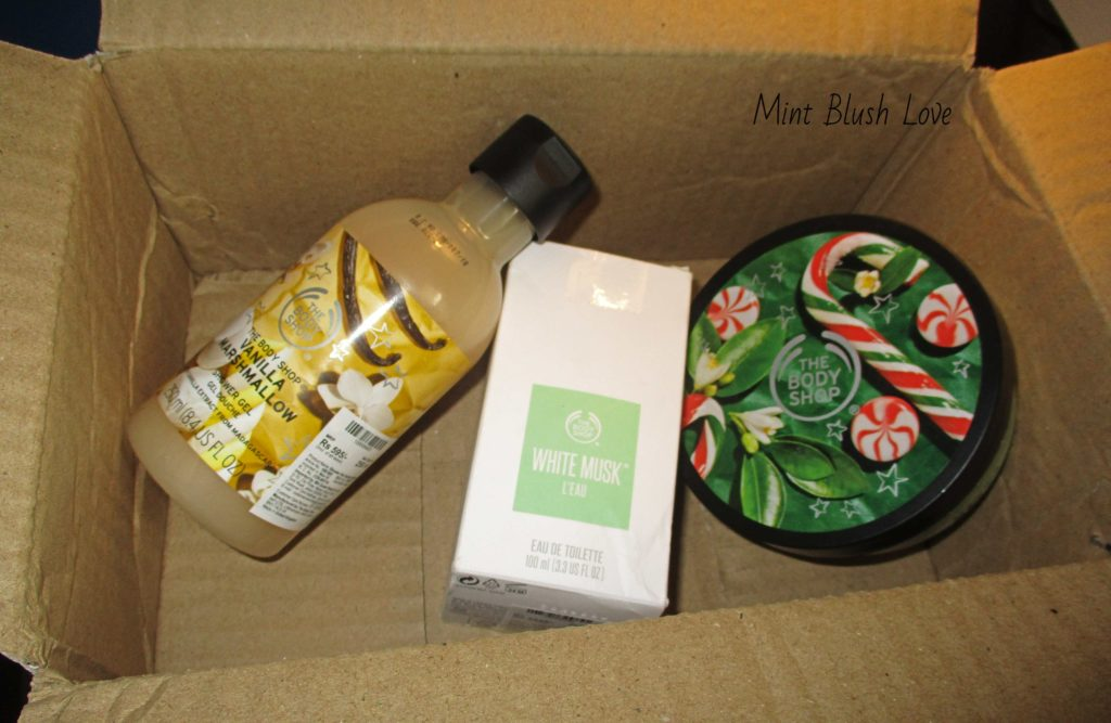 The body shop website review