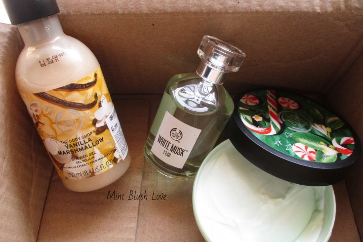 The Body Shop sale haul, website review