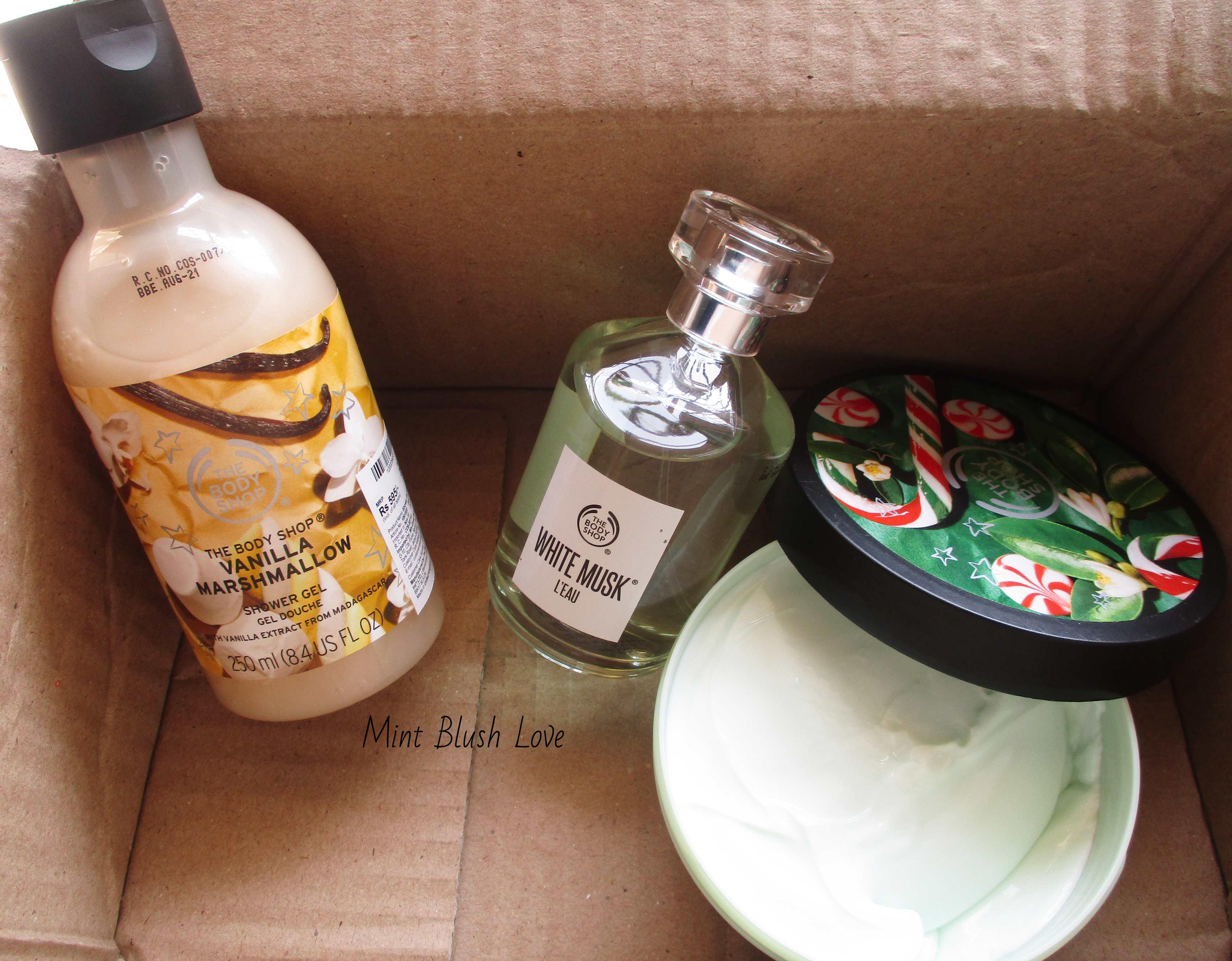 The Body Shop sale haul, website review