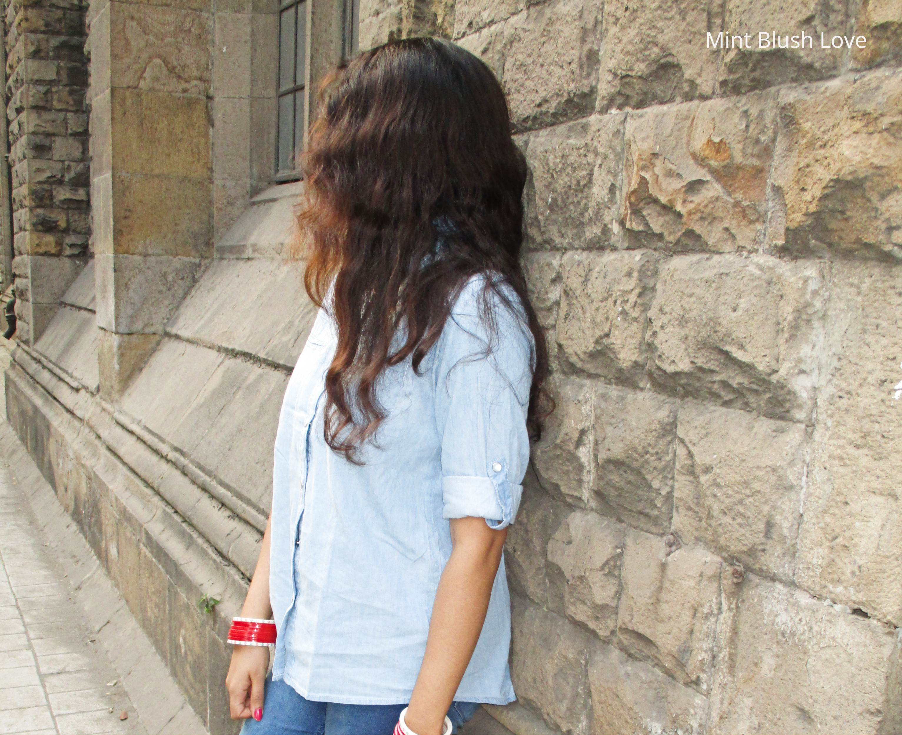 Chambra shirt outfit ideas, How to wear the denim shirt