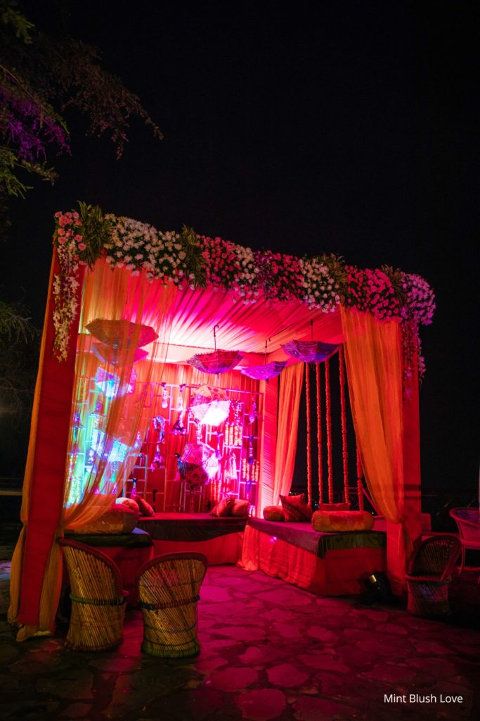Sangeet Decor, Photobooth Mehendi, Indian wedding decor