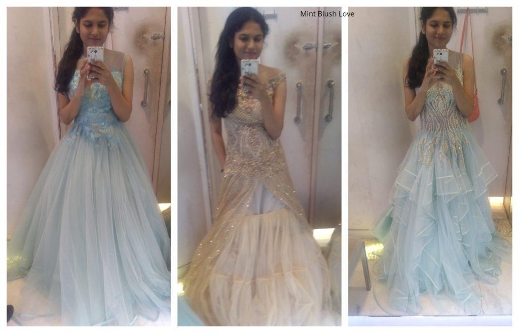 wedding lehenga shopping in Mumbai, Reception gowns bridal, Mumbai reception gowns, bridal gowns India