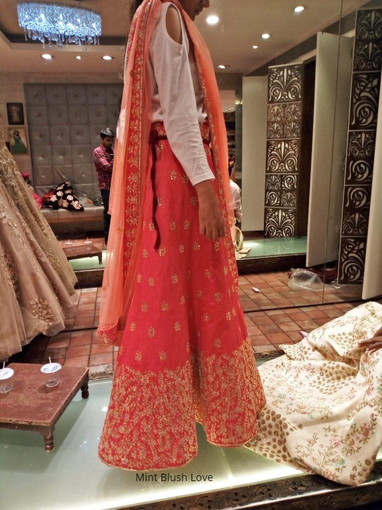 wedding lehenga mumbai shopping bawree, Bridal lehengas in Mumbai