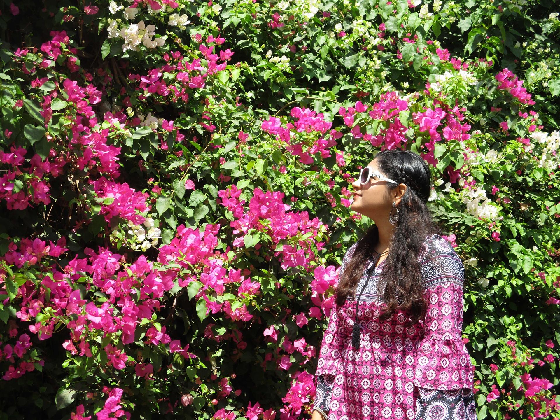 bohemian dress flowers